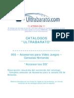 003 - Accesorios Nintendo - Accesorios DS - UT
