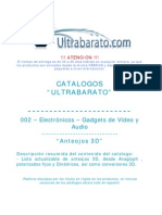 002 - Gadgets de Video y Audio - Anteojos 3D - UT