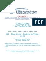 003 - Gadgets de Video y Audio - Otros Gadgets - UT