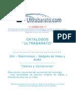 004 - Gadgets de Video y Audio - Cables y Conectores - UT