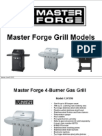 Master Forge Grill Models