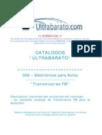 006 - Electronicos Para Autos - Transmisores FM - UT
