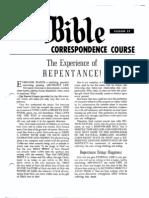 AC Bible Corr Course Lesson 22 (1960)