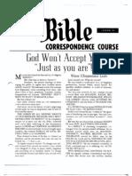AC Bible Corr Course Lesson 24 (1961)