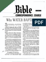 AC Bible Corr Course Lesson 25 (1960)