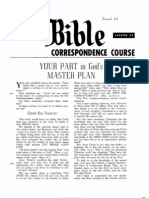 AC Bible Corr Course Lesson 34 (1964)
