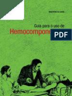 Guia Uso Hemocomponentes
