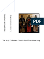 These Truths We Hold - The Holy Orthodox Church