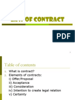 Law 0f Contract