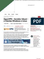 Blog do Nerd » OpenVPN – Servidor Ubuntu e Clientes Windows e Linux
