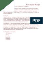 investigación WebQuest