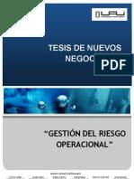Tesis Nuevos Negocios -Gestión del Riesgo Operacional final 2[1].0