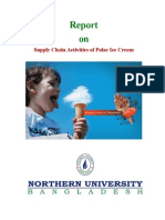 Assignment on supply chain activites of Polar Ice Cream