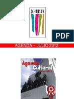 AGENDA – JULIO 2012