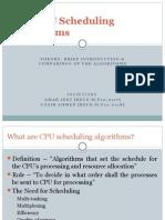CPU Scheduling Algorithms (Presentation)