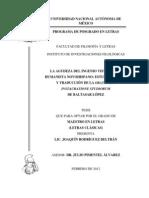 La agudeza del ingenio vista por un humanista novohispano-Tesis de Maestría-Joaquín Rodríguez