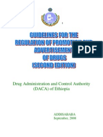 Finalized Promotion Control Guideline 2nd Edition