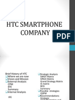 SM PRESENTATION ON HTC PPT