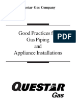 Good Pratices GAS PIPING