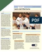 438 Canto Ofertorio