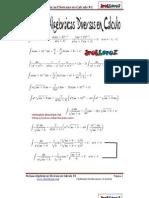 Formas Algebraicas Diversas en Calculo