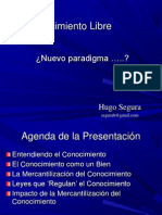 Conocimiento Libre - UNEFA 2012