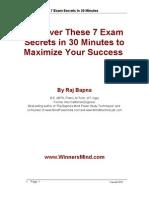 1 Report - 7 Exam Secrets in 30 Minutes