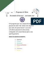 Programa de Metas Da Sociedade de Socorro