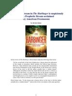 A Masonic-type Dream in 'The Harbinger'