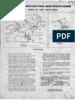 Honda Goldwing GL1000 Bates Saddlebag Mounting Instructions