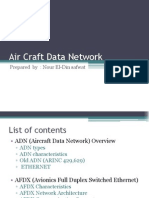 aircraft data network