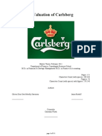 A Valuation of Carlsberg
