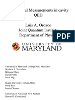 Conditional Measurements in Cavity QED
