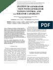 Generator protection coordination