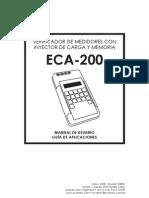 Manual de Usuario ECA-200