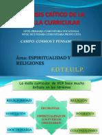 ANALISIS CRÍTICO DE LA MALLA CURRICULAR