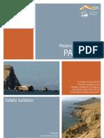 Reserva Nacional de Paracas - Folleto 2011