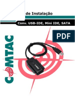 Manual conversor IDE/SATA para USB