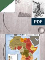 Presentación de la colonización de África