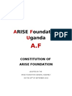 Constitution Arise Foundation