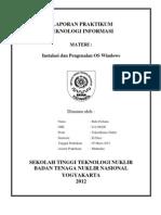 Latihan 2 Instalasi Dan Pengenalan Os Windows