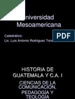 Historia de Guatemala y c.a. i