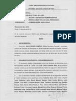 Exp 01290-2012 Contenciosa Administrativa Sindicato de Servidores de La Municipalidad Distrital de Castilla - Cautelar