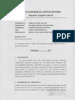 Exp 03582-2012 Contenciosa Administrativa David Segundo Palomino Timana - Sentencia 1ra Instancia