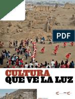 Cultura toma huacas de Lima