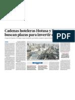 Inversion hotelera crece en Peru