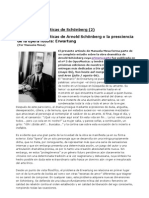 Las obras dramáticas de Arnold Schönberg (2)_ Erwartung (Por Manuela Mesa)