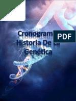 Cronograma genética