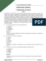 Examen de Admicion UNMSM 2008-II