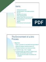 Environment of Unix Process